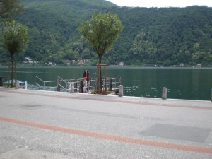 The calm lakes of Lugano