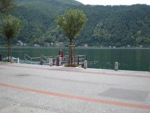 The calm lakes of Lugano