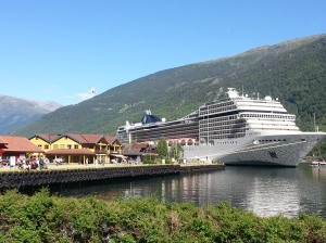 Our cruise in Flaam
