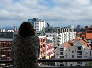 First sight of Stavenger, from our balcony