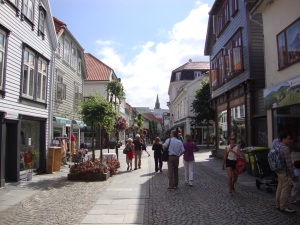 Shopping streets, with some nice shops