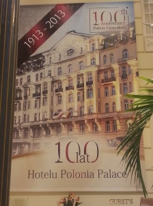 Polonia Palace Hotel 100th year