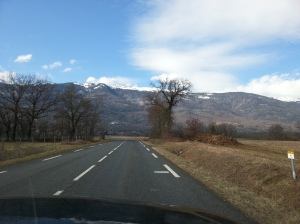 To Annecy in the beginning of spring