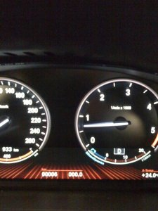 BMW 740 just 6 km