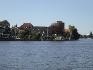 Zaanse Schans by the river