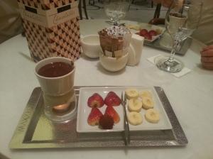 Chocolate fundue