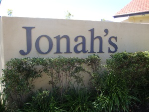 Jonah's restaurant