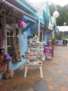 Cute beach shops