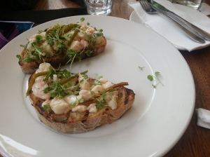 Tiger Prawn Bruschetta