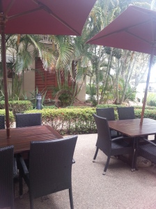 Restaurant area of the hotel