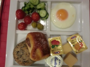 Mother's plate, a bit healthy