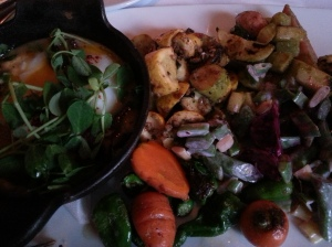 Local Vegetable Plate