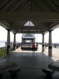 Waterfront Park, pier