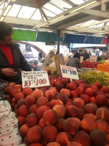 Open market we used to shop every week.