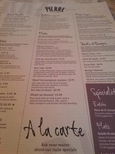 Rich menu